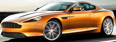 Aston Martin Virage Coupé.