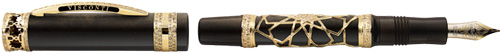 Visconti Extase d'Oud HRH White Diamonds fountain pen.