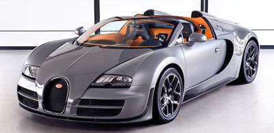 Bugatti Veyron 16.4 Grand Sport Vitesse.