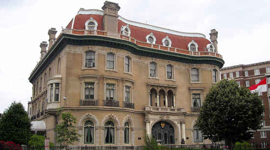 Walsh Mansion, 2020 Massachusetts Ave NW, Washington, D.C., U.S.A.