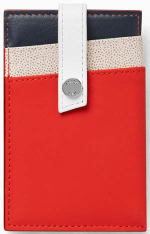 WANT Les Essentiels de la Vie Trudeau De Gaulle Kennedy Money Clip Wallet: US$135.