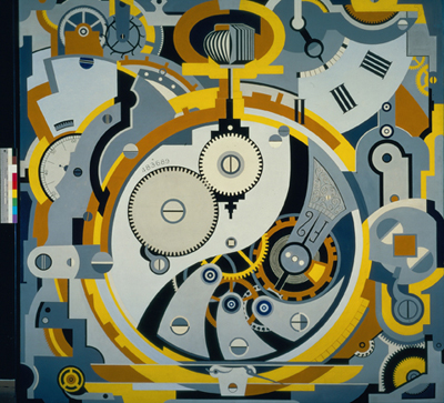 Watch (1925) by Gerald Murphy at Dallas Museum of Art.