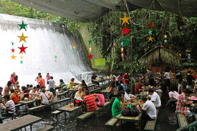 Waterfalls Restaurant, San Pablo City, Luzon 400.