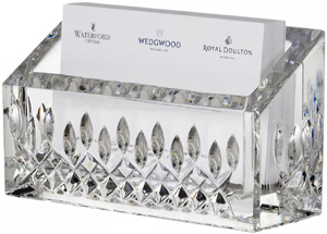 Waterford Lismore Essence Business Card Holder: US$100.