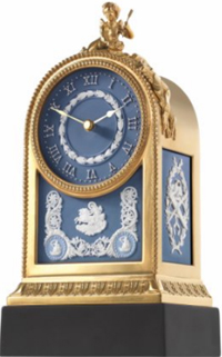 Wedgwood Cupid Mantle Clock.
