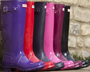 Hunter Wellington Boots.