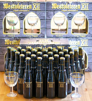 Thirty bottles of Westvleteren XII.