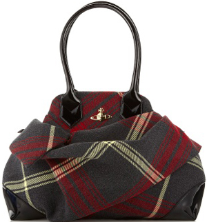 Vivienne Westwood Winter Tartan Mac Edward Bag: €515.