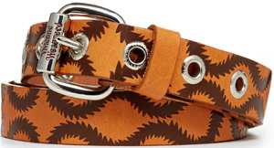 Vivienne Westwood Men's Brown Squiggle Belt: €130.