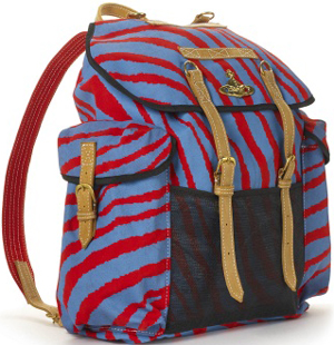 Vivienne Westwood Striped Men's Rucksack: €250.