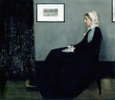 Whistler's Mother (1871) by James McNeill Whistler.