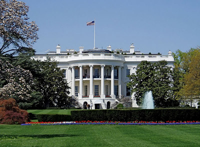 White House, 1600 Pennsylvania Avenue NW, Washington, D.C. 20500, U.S.A.