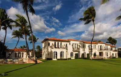 Kennedy Winter White House, 1095 North Ocean Boulevard, Palm Beach, FL 33480.