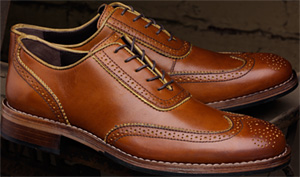 Wolverine Wickham 1000 Mile Brogue Oxford Shoes: US$280.
