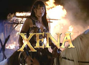 Xena: Warrior Princess: 1995-2001.