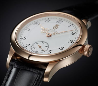 Forte de Lippe rose gold watch - limited to 99 watches.