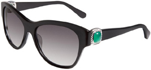 David Yurman Albion Wayfarer Sunglasses, Black Onyx women's sunglasses: US$695.