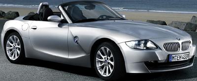 BMW Z4 Roadster.