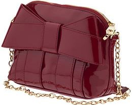 Z Spoke by Zac Posen Shirley Bow Crossbody Handbag: US$250.