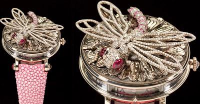 Zadora Dragonfly Timepiece.