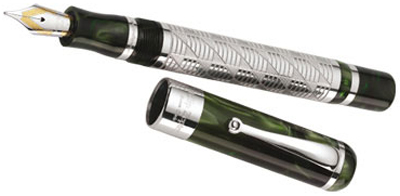 Philip Zepter Sterling Silver Fountain Pen - limited edition.
