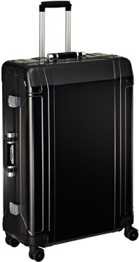 Zero Halliburton Geo Aluminum 30in 4 Wheel Spinner Travel Case In Black: US$1,200.