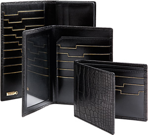 Zilli Prestige leather holder collection from £1,950.