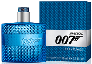 James Bond 007 Ocean Royale men's fragrance.