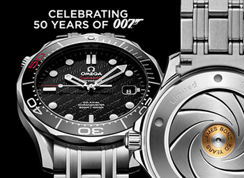 Celebrating the 50th anniversary of the film On Her Majesty's Secret Service, this thrilling James Bond timepiece pays tribute to OMEGA's favourite spy. Limited to just 7,007 pieces, it is crafted with plenty of secret surprises.