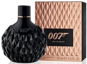 James Bond 007 women's Eau de Parfum.