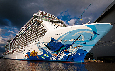 Norwegian Escape.