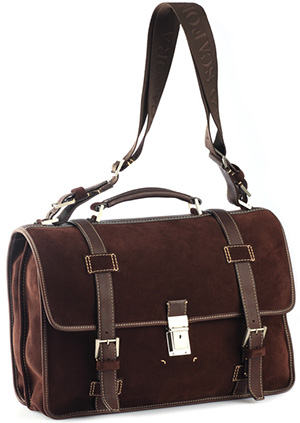 Paolo Scafora men's handbag.