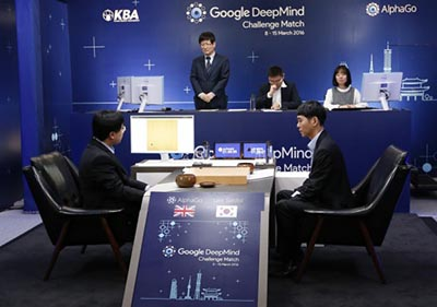 Google DeepMind Challenge Match, 8-15 March 2016.