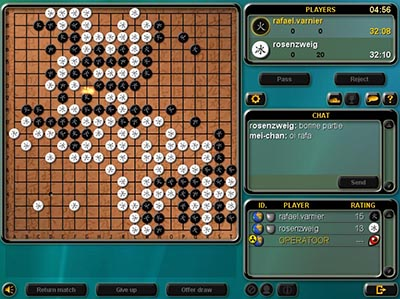 Play Go Online.