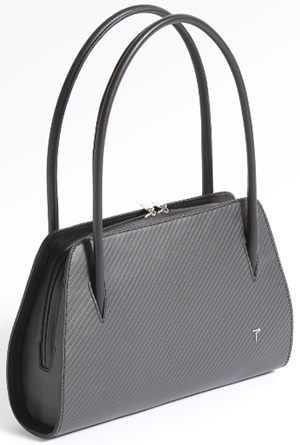 Purisme Women's Carbon Handbag.