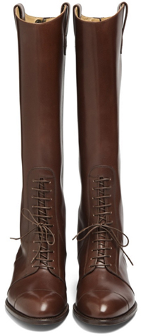 Paul Stuart Women's Brown Leather Boots: US$868.