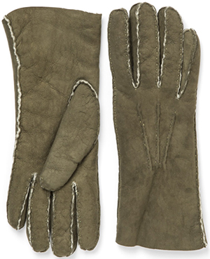 Paul Stuart Women's Shearling Gloves: US$187.