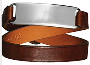 Ralph Lauren Bridle-Leather Wrist Strap: US$295.