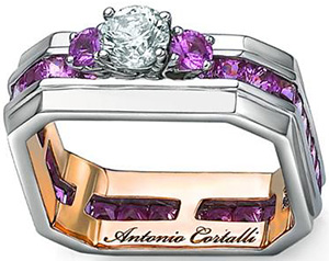 Prodori Womens's Antonio Cortalli Ring: US$19,995.