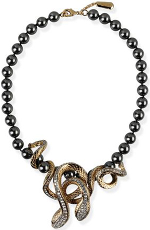 Roberto Cavalli women's necklace: US$990.