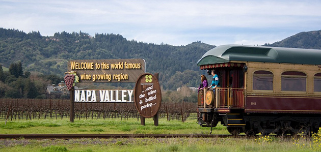 The Napa Valley Wine Train, 1275 Mckinstry St, Napa, California, U.S.A.