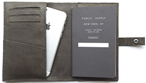 This is Ground Leatherback Writer 3 wallet: US$100.