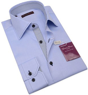 Giovanni Rosmini slim body fit shirt, 100% cotton.