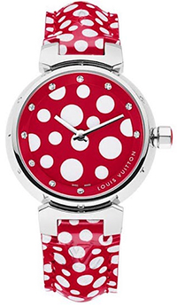 Yayoi Kusama for Louis Vuitton Red Women's Watch.