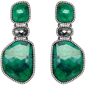 Sutra Jewels Joie de Vivre Earrings.