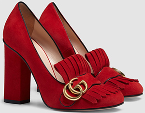 Gucci Women's Suede Pump Shoes: US$790.