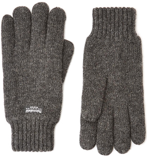 Austin Reed men's charcoal thinsulate gloves: £25.