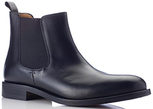 Austin Reed black leather men's Chelsea boot: £149.