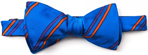 Edward Armah Blue/Orange Bowtie: US$105.