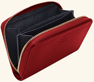 L/Uniform No. 48 women's wallet: €110.
